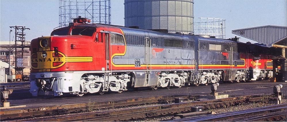 Image result for santa fe pa diesel locomotives